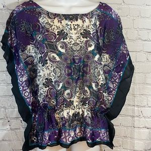Pheasant Boho type Paisley Sleeveless  S by AGB